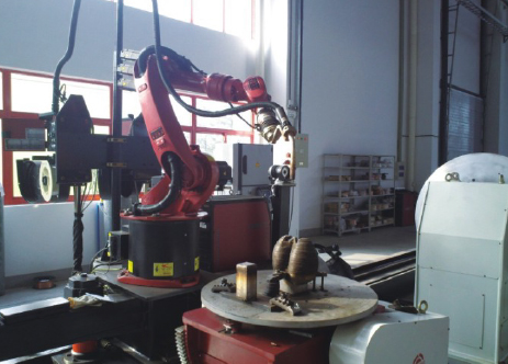 Robot Welding System For Component Steam Turbine Mumbai